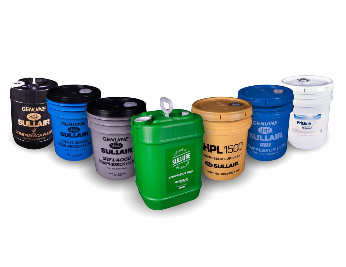 PIC_Sullair lubricant buckets - flying V